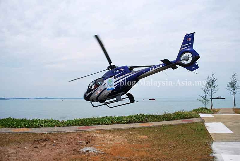 Port Dickson Helicopter Tours in Malaysia