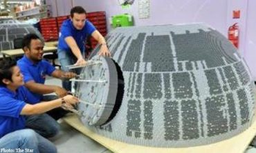 Legoland to house world's biggest iconic Star Wars superweapon