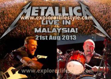 Metallica Live in Malaysia 2013