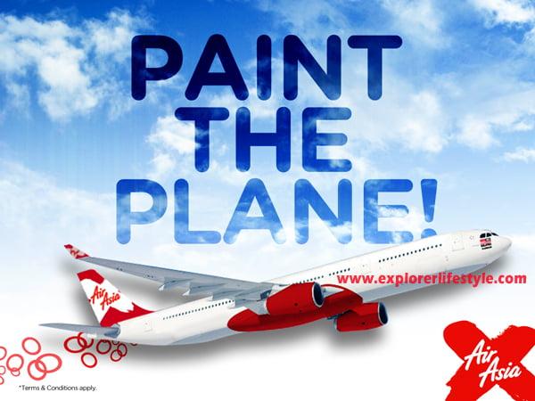 AirAsia X Contest – Paint the Plane Design