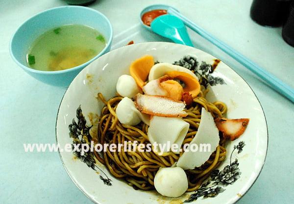 Yee Kiau Mee in Melaka