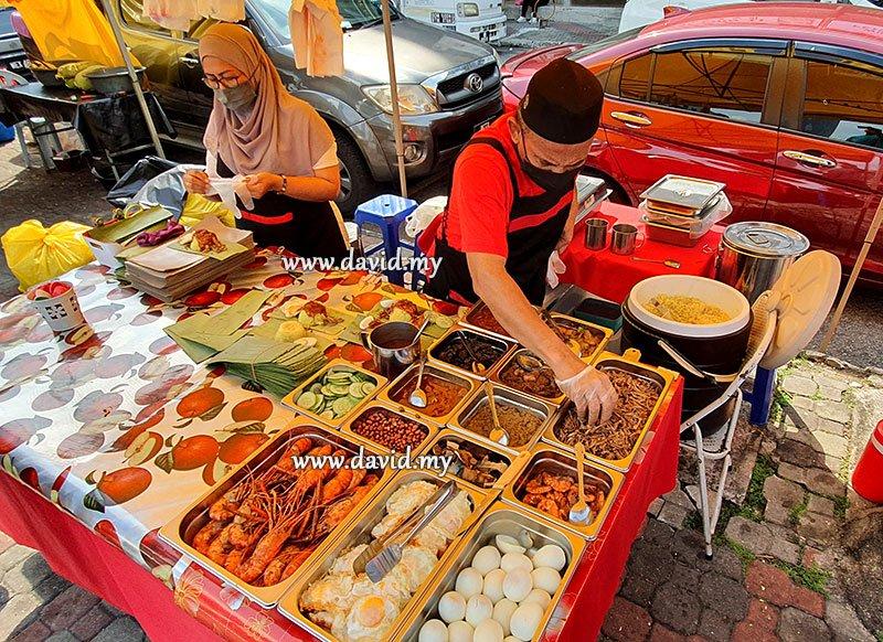 Nasi Lemak Bungkus Kedah at TTDI