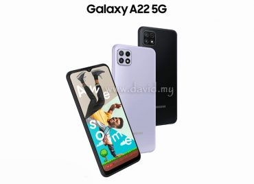 Samsung Launches Galaxy A22 5G in Malaysia