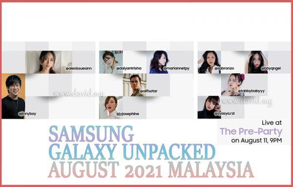Galaxy Unpacked Pre-Party Live Show Malaysia