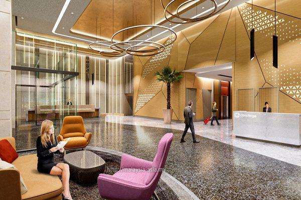 Lobby Area Sunway Big Box Hotel Johor