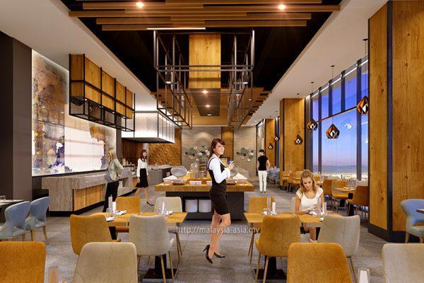 Pendas Cafe Sunway Big Box Hotel